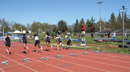 Aggie Open (2011), W100 Hurdles Section 1, Reverse Direction