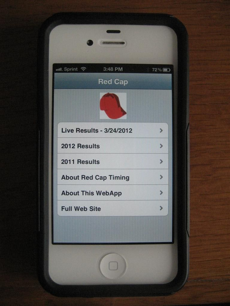 Red Cap Mobile App