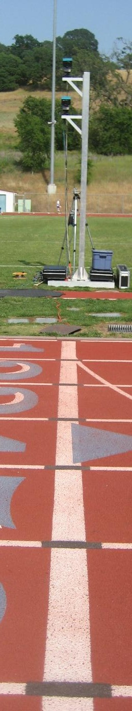Rocklin HS Finish Line circa 2009