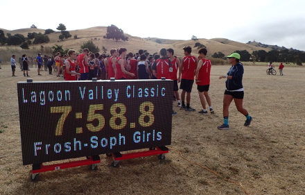 Lagoon Valley Classic, FS Boys Start with 400+ Runners, 2019