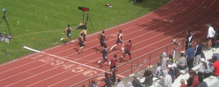 Mathis Invitational, Men 100 Final, 2013
