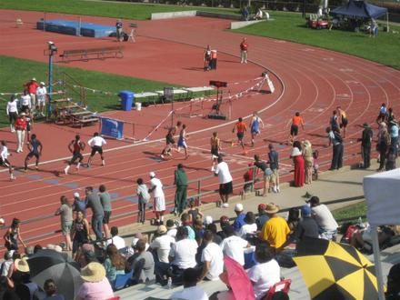 Sacramento Meet of Champions, American River College, B4X400