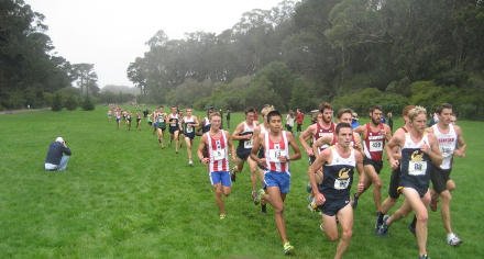University of San Francisco Invitational, Mens Race Chase Group, 2013